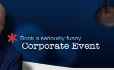 Book a Seriously Funny corporate event