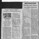 Brownstein Article, December 2007